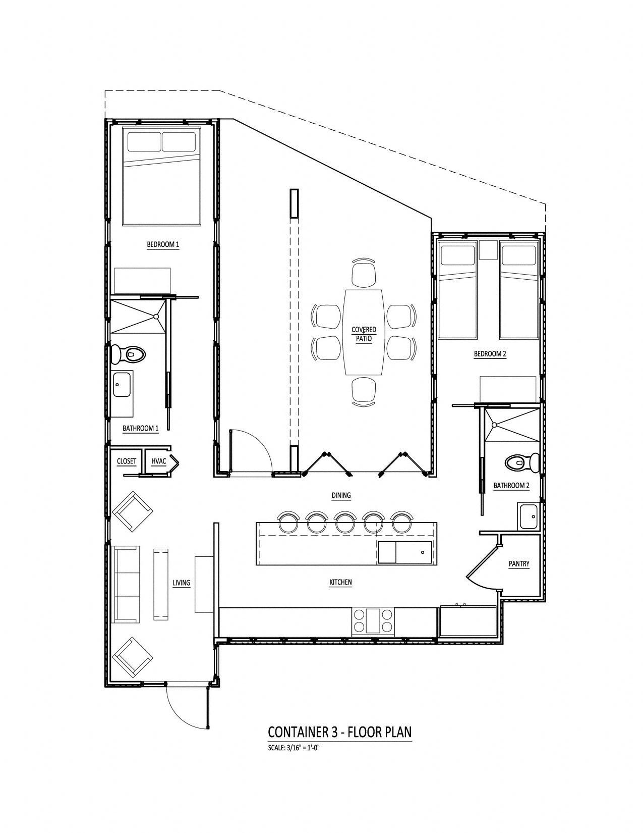 Shipping Container Floor Plans conex box home floor plans – meze blog