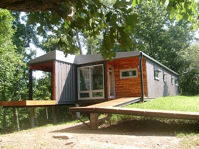 Springfield mo container home r one studio architecture - Container homes hawaii ...
