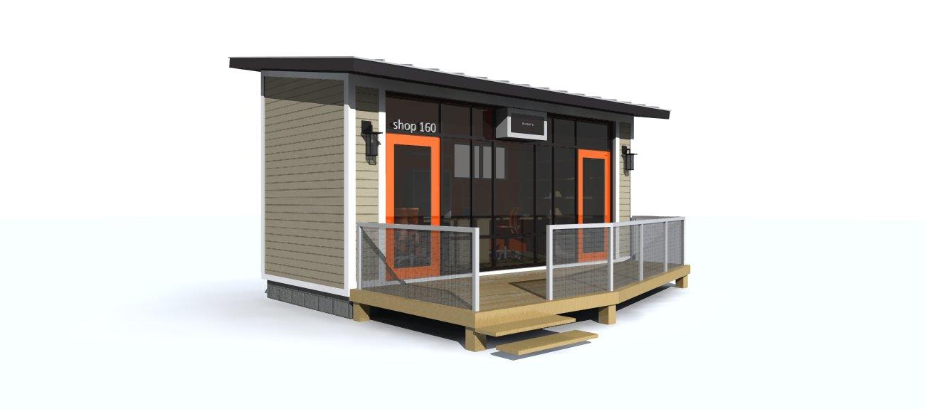 Shop 160 Home Office Pod R One Studio Architecture
