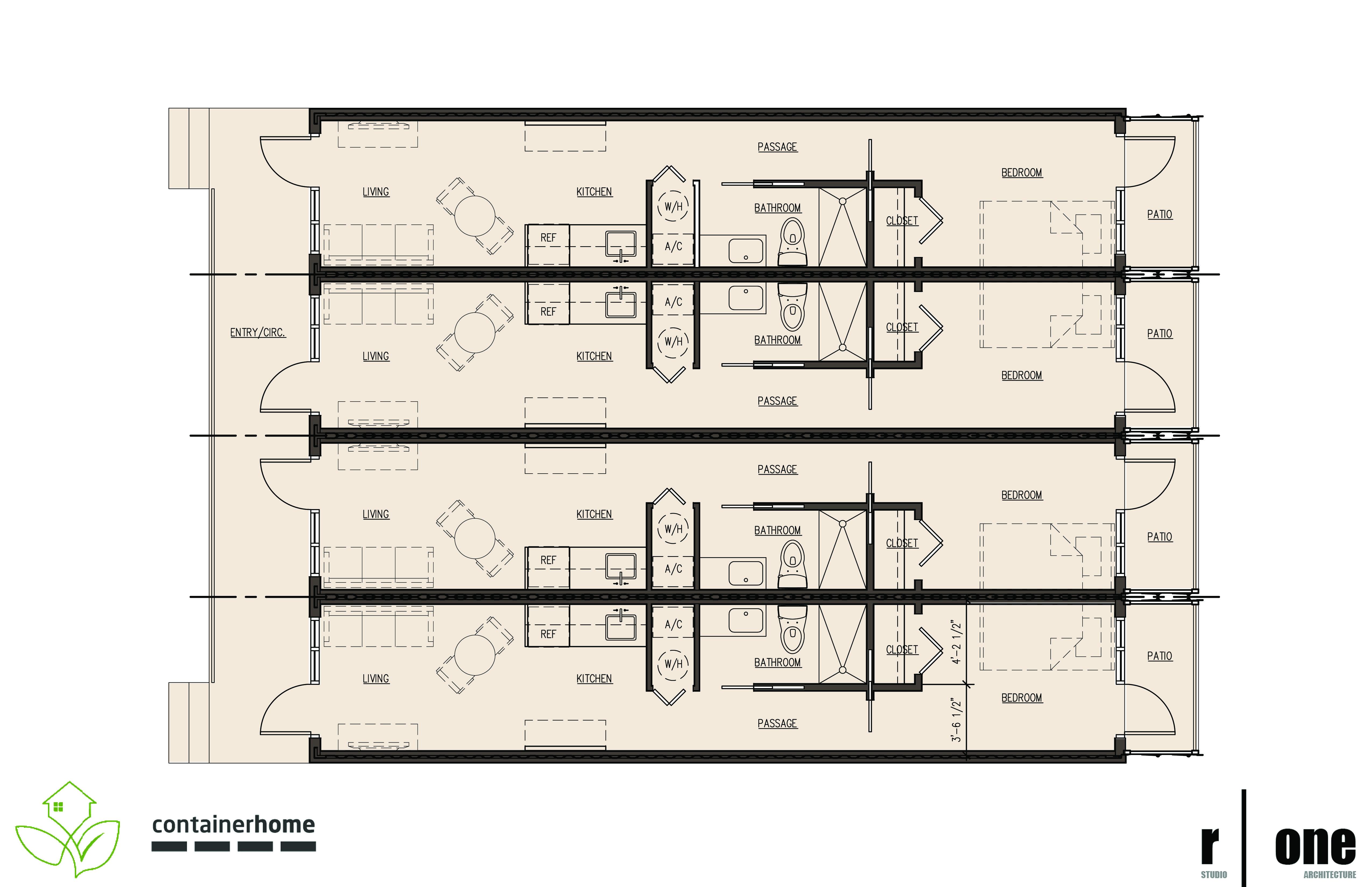 multiple storage building plans