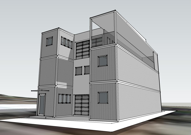 Isbu architecture joy studio design gallery best design for Cargo architecture