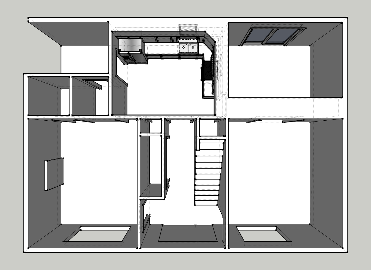 kitchen computer desk plans