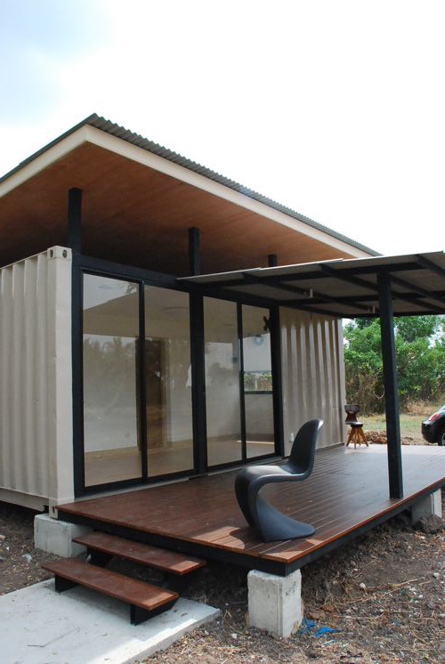 a smaller home - more of a cabin really. but still well designed and executed.