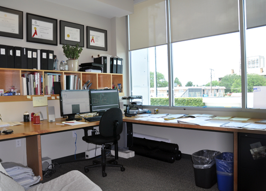 an architects office - life of an architect (looks way too clean)
