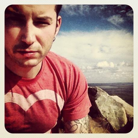 Top of Pinnacle Mountain