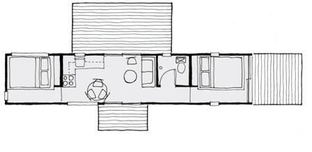 ShelterWerks stock residential model