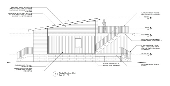Side Elevation - copyright r | one studio architecture 2013