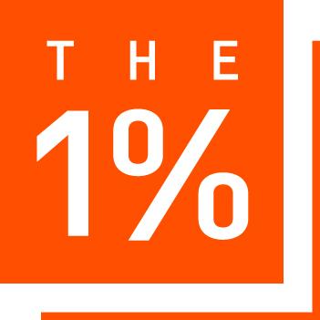 1% Logo